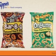 Grippo Bar-B-Que Rings 20 ct/ 2 oz. Bags
